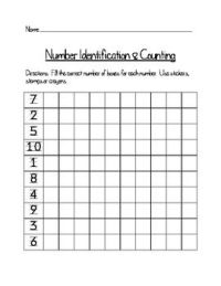 All Worksheets  One To One Correspondence Worksheets For ...