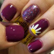 easy summer nail art short