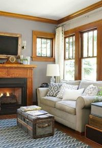 The Best Paint Colours To Go With Oak (Trim, Floor ...