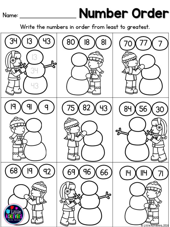First Grade Math Worksheets and Literacy Worksheets