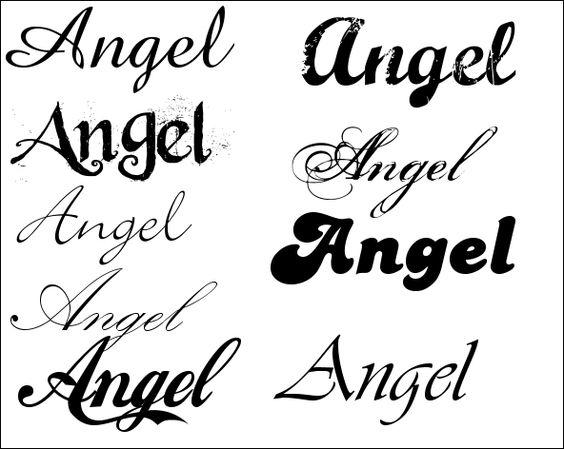 Tattoo Lettertype Lettertypes Alfabet In Sierletters