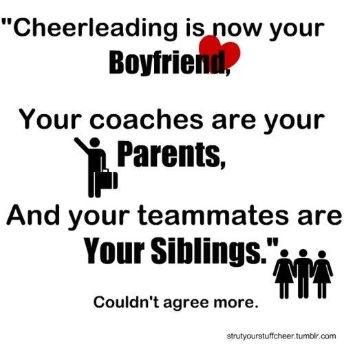 Cheer, My mom and Quotes on Pinterest