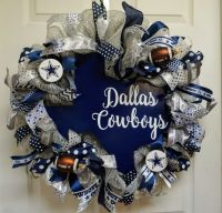 Dallas Cowboys Wreath, Cowboys Wreath, Dallas Wreath ...