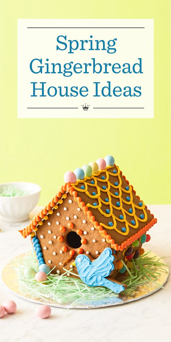 Home Tweet Home Bake Up Some Fun With Our Spring Gingerbread