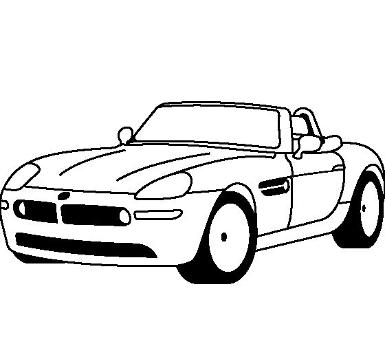 Bmw z8, Coloring pages and Bmw cars on Pinterest