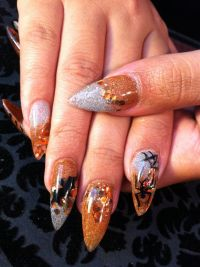Stilettos, Halloween nails and Nails on Pinterest