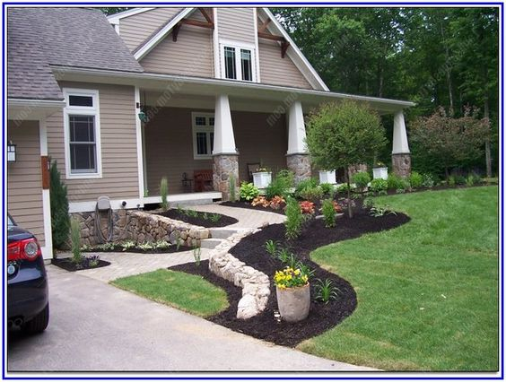 awesome country home landscaping