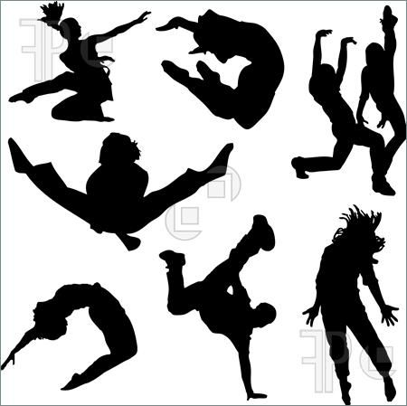 dance silhouette clip art - bing