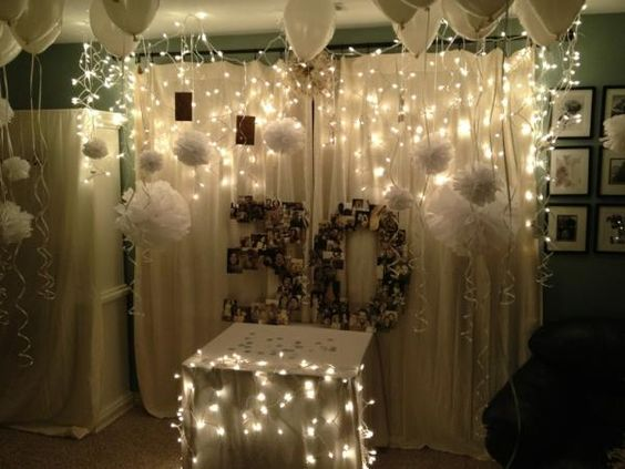 30th Anniversary Parties, Tissue Paper Decorations And
