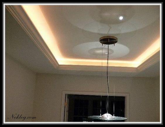 Wonderful Led Lights For Tray Ceiling Design Idea More