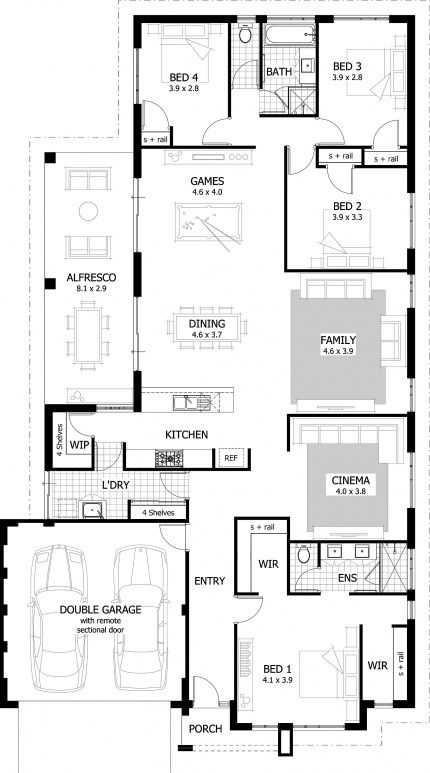 Open plan living, Dr. who and Window on Pinterest