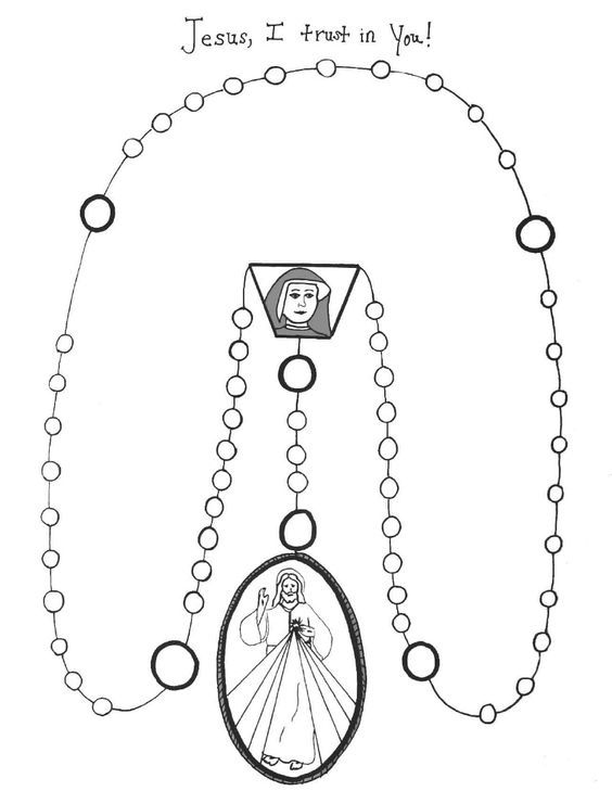 Divine mercy, Coloring and Coloring sheets on Pinterest
