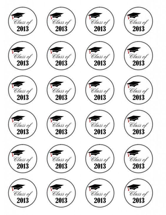 Graduation Cupcakes {Class of 2013} Free Printable