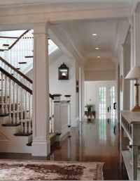 Favorite House Details. . . open staircase design. Newel ...