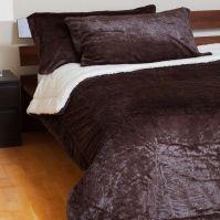 Ultra Soft Plush Velvet Sherpa Comforter Set   Beautiful ...