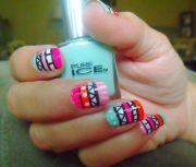 cute nail design confident