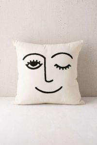 Embroidered pillows, Pillows and Urban outfitters on Pinterest