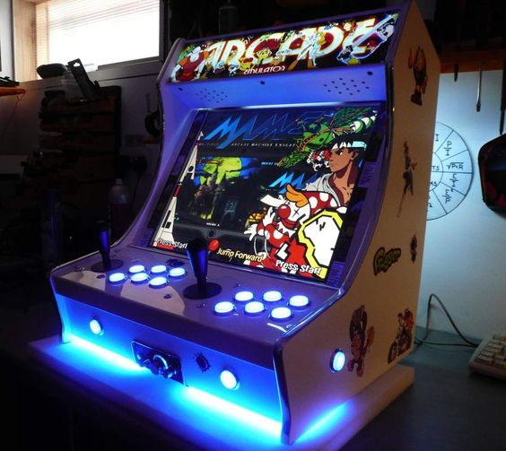 Mini Arcade Machine  Arcade Cabinet  Pinterest  Arcade
