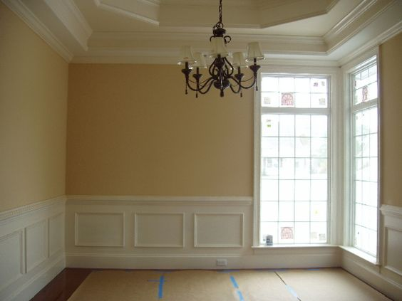 picture frame moulding under chair rail ashley furniture oversized white wall paneling sheets   ... interiordesignforhouses com room victorian panels