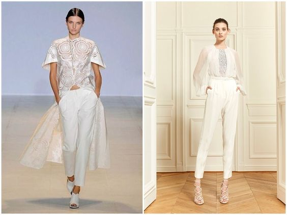 And The Bride Wore The Trousers  Rompers Trouser suits