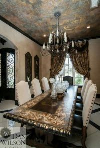 Tuscan Old World dining room | Dining | Pinterest | Old ...