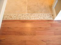 threshold between tile and wood - Google Search   Interior ...