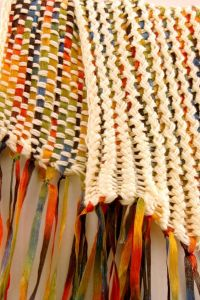 Basket weave scarf for loom | LOOM KNITTING | Pinterest ...