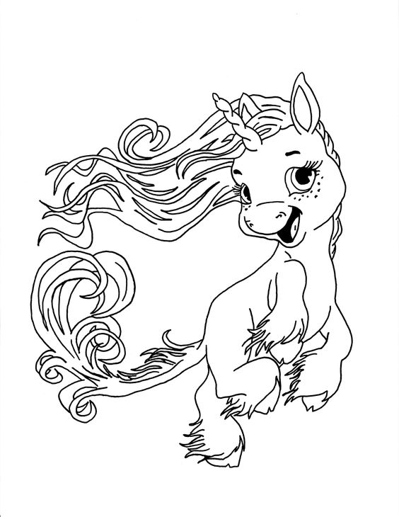Great Free Printable Unicorn Coloring Pages In Unicorn