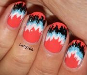 nail trends fabric pattern nails