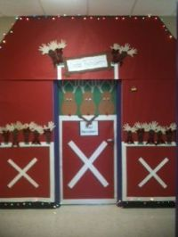 Stables, Reindeer and Christmas on Pinterest