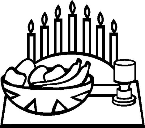 Coloring, Kwanzaa and Coloring pages on Pinterest