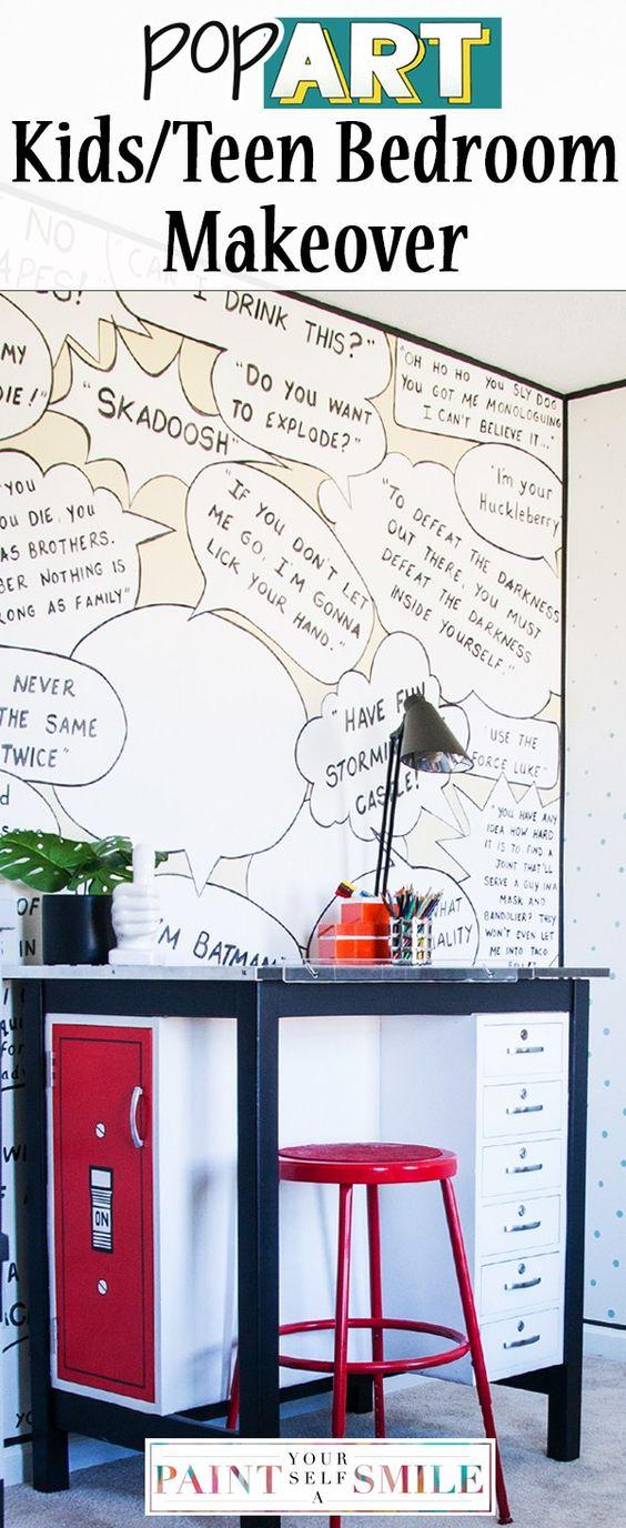 pop art kids/teen bedroom-my favorites