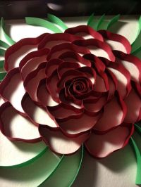 3d paper quilling red rose by POWpaper on Etsy | quilling ...