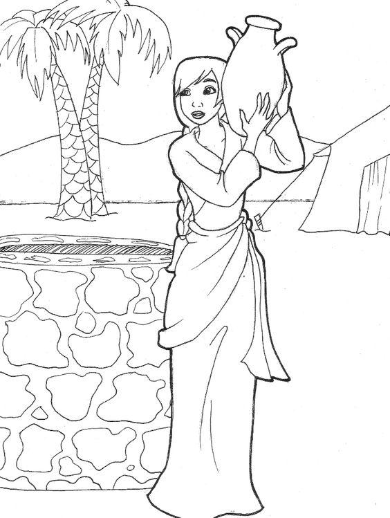 Rebekah drawing water (Genesis 24) by LikeSoTotally