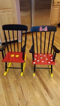 Aren't these darling??? Matching Minnie and Mickey rocking ...