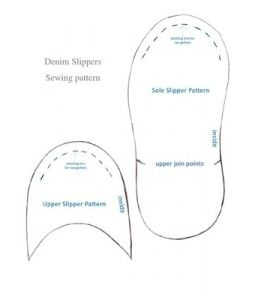 Slippers and Patterns on Pinterest
