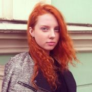 blue eyes red hair valentina person anecdote