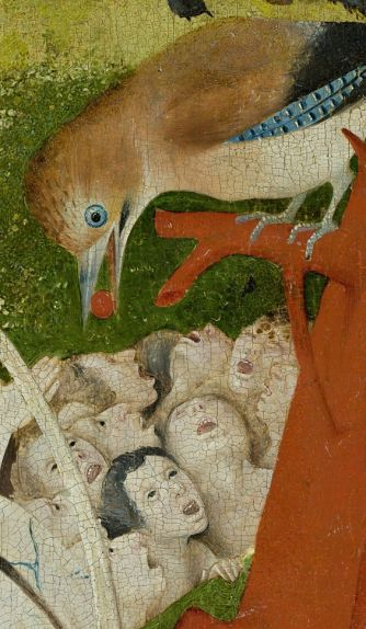 Hieronymous Bosch - The Garden of Earthly Delights - Detail: