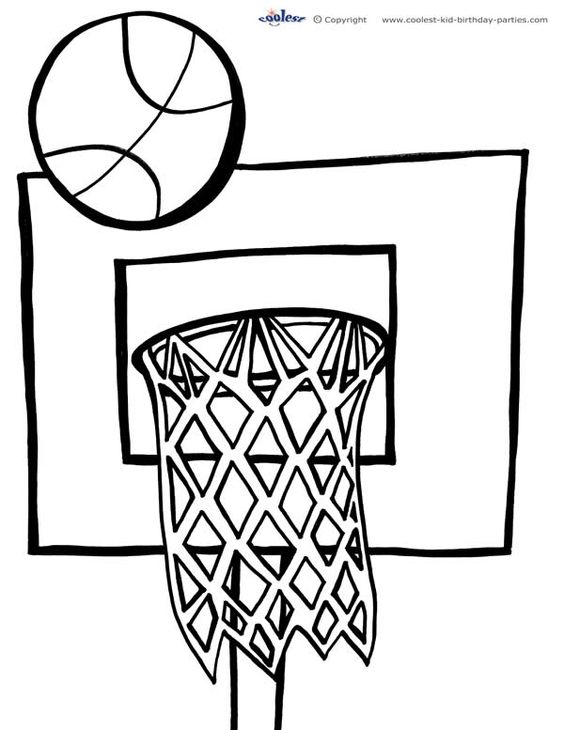 Awesome, Coloring and Basketball on Pinterest