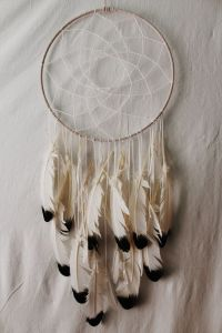 Indie Dreamcatcher: Large White Hipster wall decor | White ...