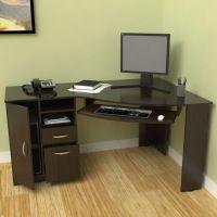 Corner Desk with Shelf | Computer Desks | Pinterest ...
