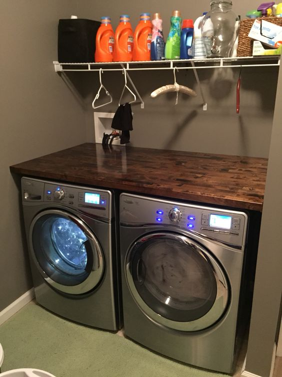 Just finished installing our new Whirlpool Front load