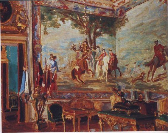 The Marlborough Tapestries at Blenheim Palace.: