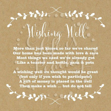 Wishing Well Poems Wishing Well And Poem On Pinterest