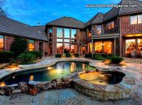 Luxury homes, Backyard pools and Home magazine on Pinterest