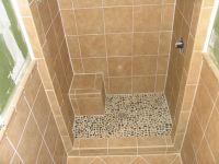 stand up shower tile