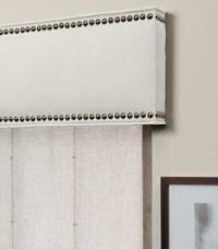 Cornice Boards with nailhead trim for a really updated ...