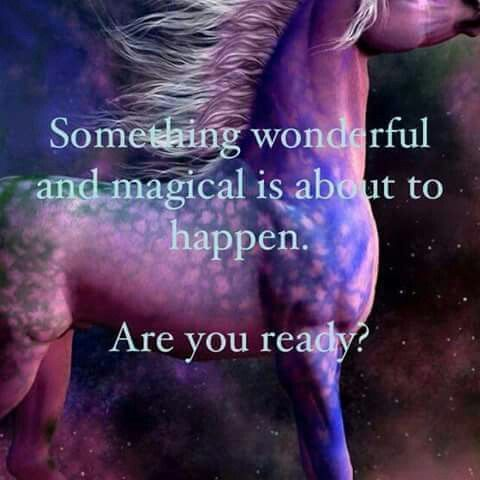 Something wonderful and magical is about to happen. Are you ready? #quote #inspiration #quoteoftheday: