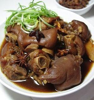 Pig feet easiest looking recipe Food that is Savoury