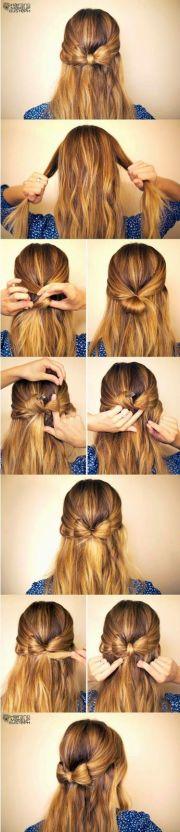 diy hair tutorails - 5 simple